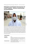 Pädagogisch-psychologische Konsequenzen der Corona-Pandemie