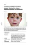 Sexueller Missbrauch an Kindern
