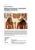 Ägyptische Bruchrechnung