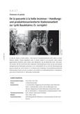 Handlungs- und produktionsorientierte Stationenarbeit zur Lyrik Baudelaires