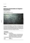 Bedeutung und Konstruktion von Tangenten
