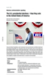 The U.S. presidential elections