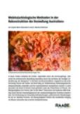 Molekularbiologische Methoden in der Rekonstruktion der Besiedlung Australiens