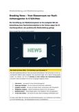 Breaking News – Vom Klassenraum zur Nachrichtenagentur in 6 Schritten