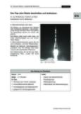 Den Flug einer Rakete beschreiben und analysieren