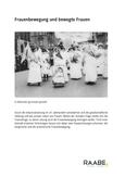 Frauenbewegung und bewegte Frauen