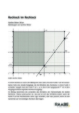 Fragestellungen zur vekrotiellen Darstellung eines Rechtecks