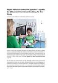 Digital-inklusiven Unterricht gestalten