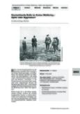 Deutschlands Rolle im Ersten Weltkrieg