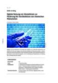 Digitale Nutzung von Simulationen zur Förderung des Verständnisses von chemischen Phänomenen
